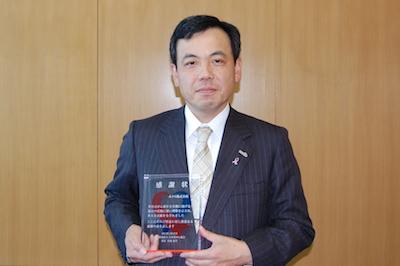 ホクト株式会社・水野雅義代表取締役社長