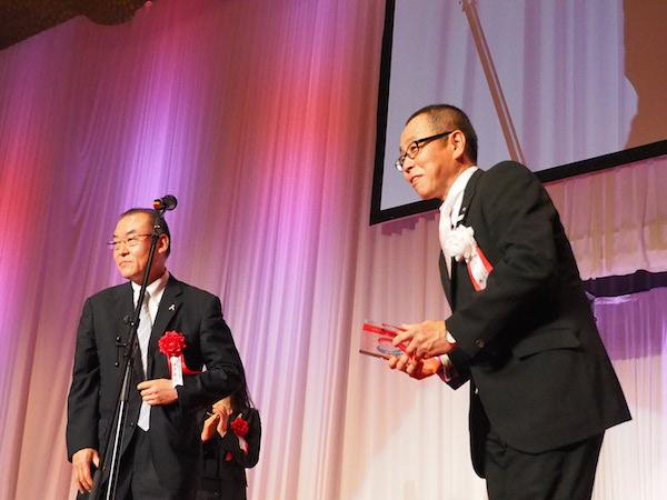感謝状を受け取る株式会社i.JTB・今井敏行代表取締役社長