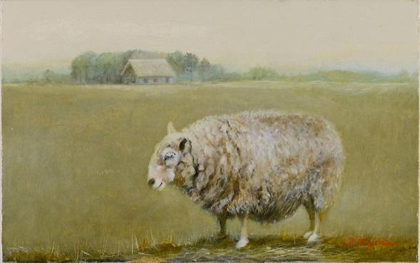 【絵画最優秀】羊の思い・我が記録